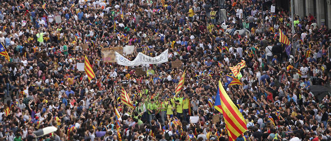 manif barcelone