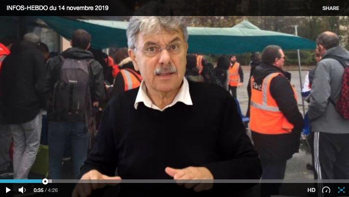 Les Infos-Hebdo du 14 octobre 2019 – Pourquoi la TT Quotidienne ?