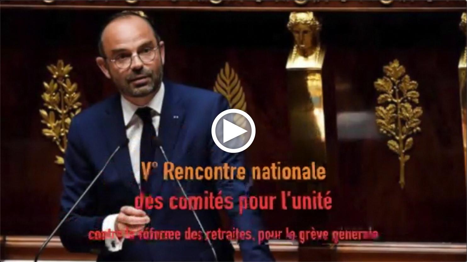 Les Infos-Hebdo du 5 mars 2020 – V° rencontre nationale des comités pour l'unité