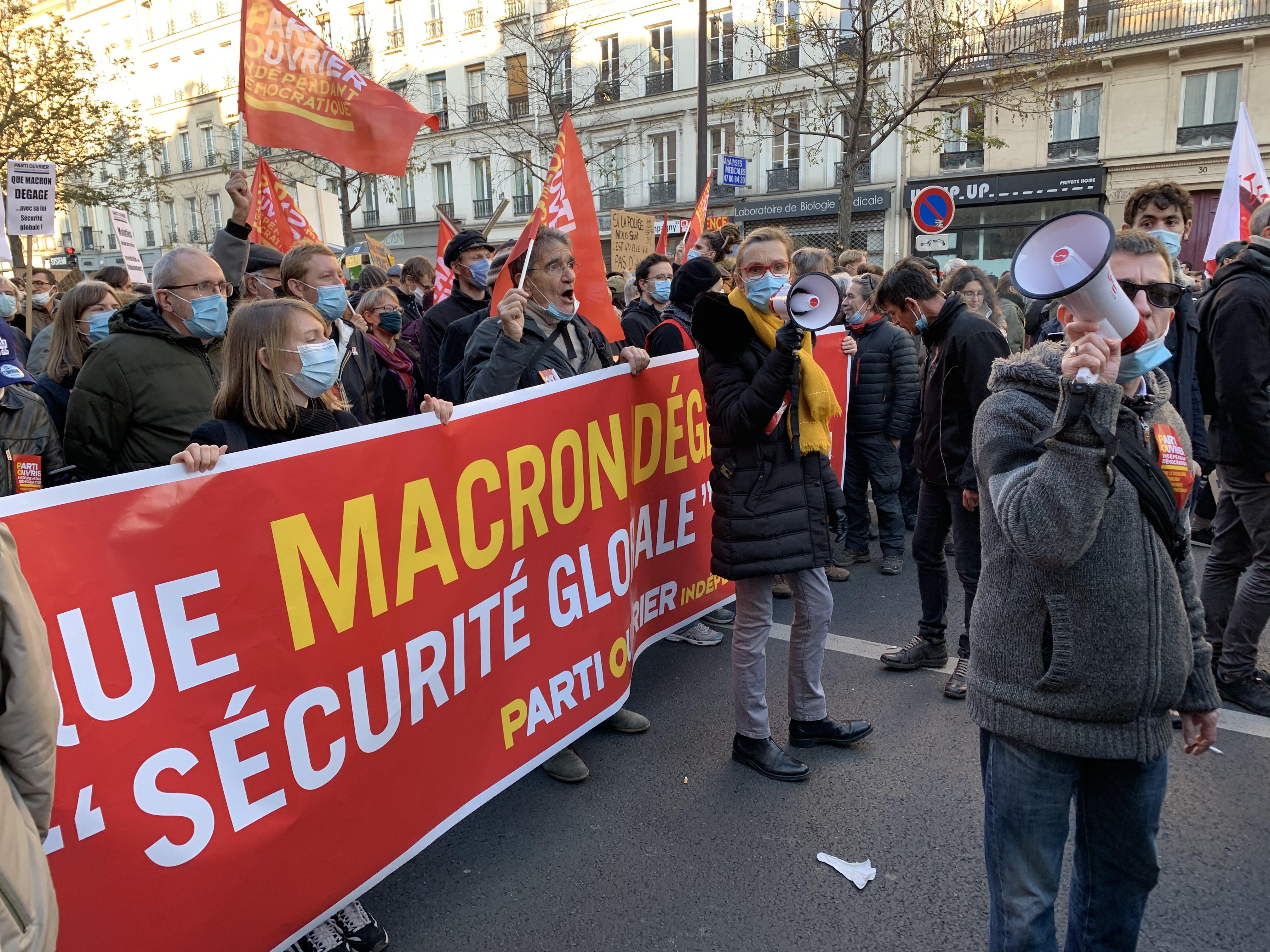 Le tract que les militants du POID ont massivement diffusé dans les manifestations du 28 novembre