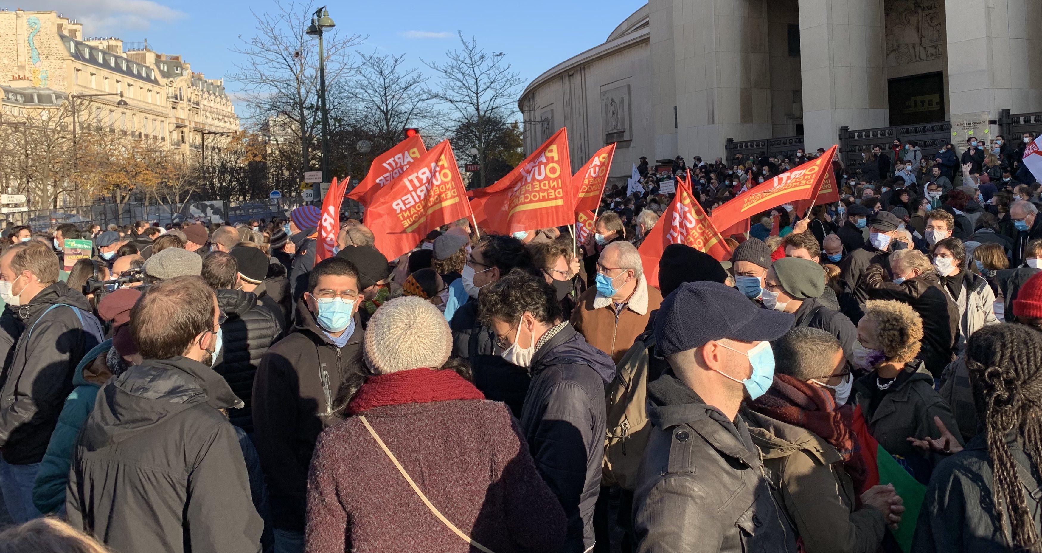 Le POID sera présent samedi 28 novembre dans tous les rassemblements et manifestations convoqués, à Paris et en province, par la coordination « Stop Loi Sécurité Globale »